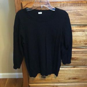 Jcrew Black Sweater